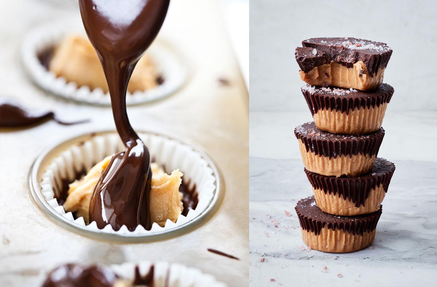 healthy peanut butter cups recipe