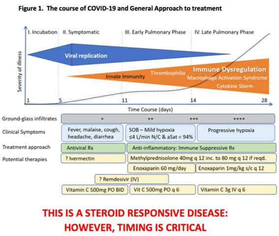 FLCCC's suggested COVID-19 treatment