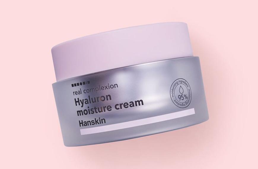 Hanskin Real Complexion Hyaluron Moisture Cream