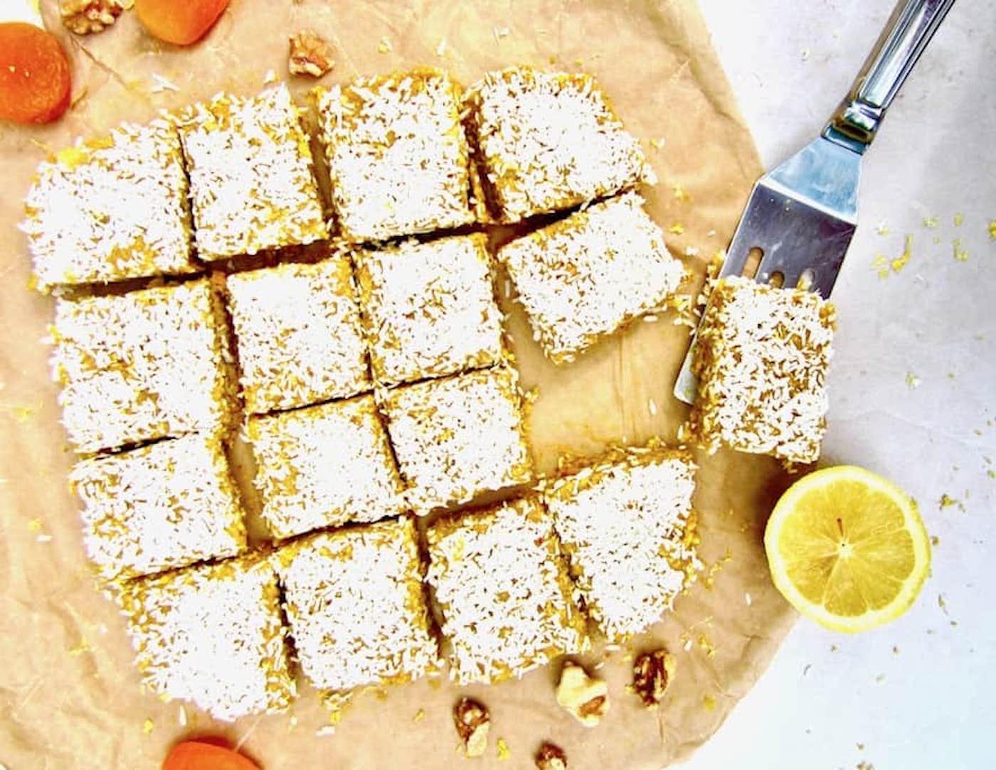 turmeric lemon bars