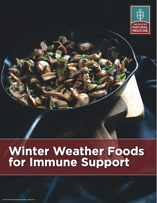 Free eBook: Immune Support Foods For Winter Months
