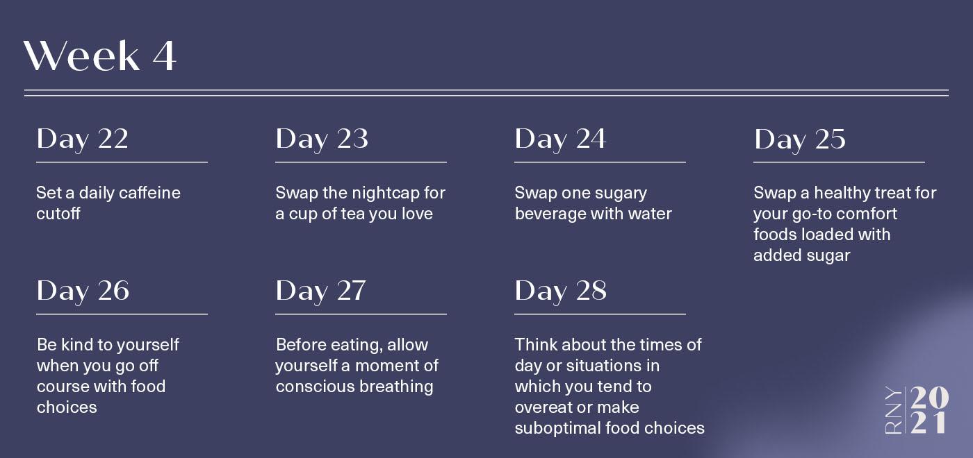 Tips on nutrition for better sleep