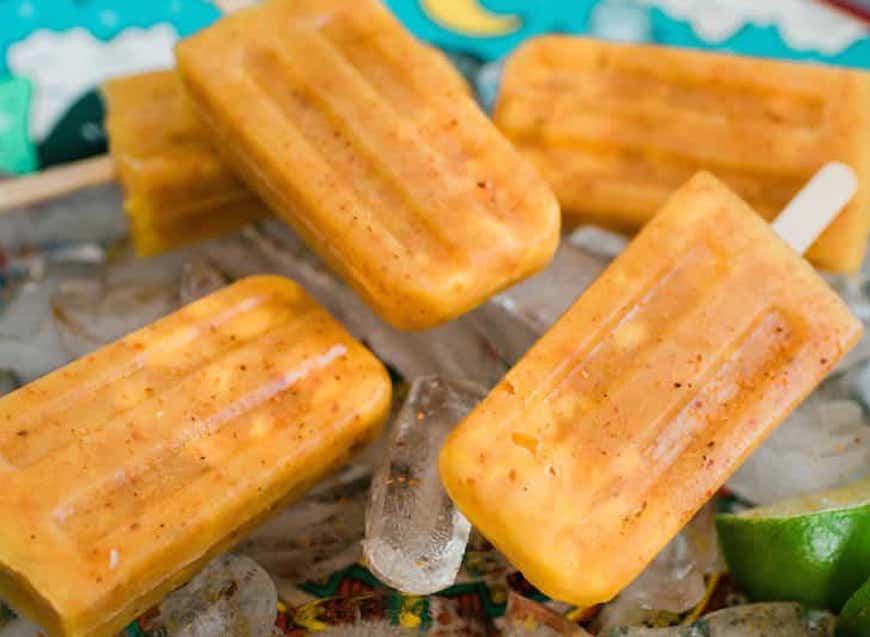 mango ice-pops