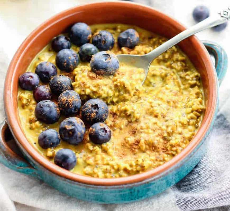 golden milk breakfast