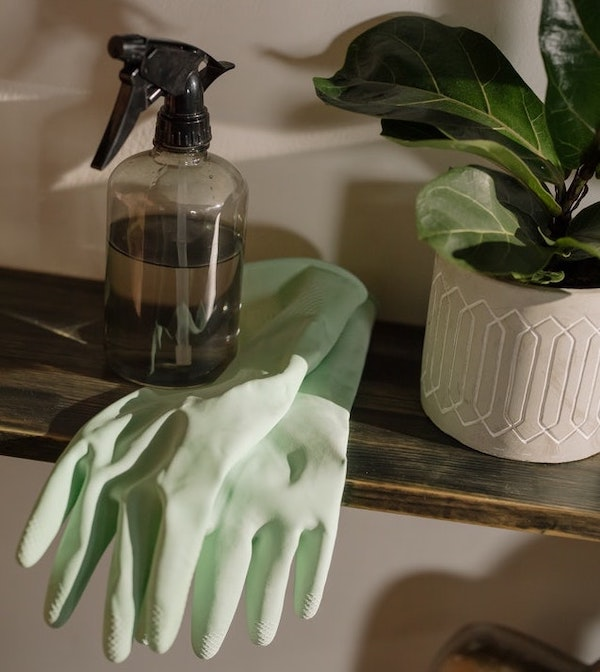 Home cleaning product recipe to lower toxin exposure