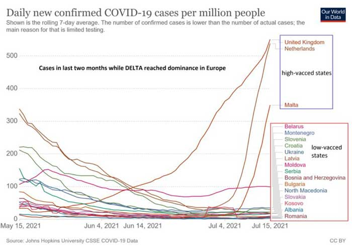 daily new confirmed covid 19 cases per million people