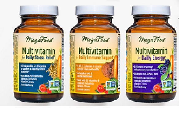 New Multivitamins from MegaFood